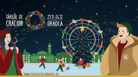 Surprizele Târgului de Crăciun din Oradea:Piaţa Unirii va fi decorată cu o roată-carusel, iar pe scenă vor urca Ştefan Hruşcă, Paula Seling şi un cor gospel (FOTO)