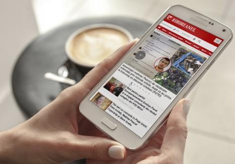 Abonează-te la BIHOREANUL, acum şi de pe mobil! Mai sunt doar câteva zile în care poţi câştiga un super smartphone!