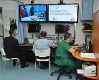 Şi medicina se face la distanţă: Urgenţele de la Spitalul Judeţean, conectate cu cele din Bucureşti şi Târgu Mureş