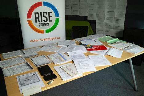 #Teleormanleaks: O valiză plină cu documente ale Tel Drum, ferite de procurorii DNA, în posesia jurnaliştilor de la RISE Project
