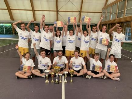 Bihorenii de la Tengo Salonta au dominat Cupa României la fotbal-tenis (FOTO)