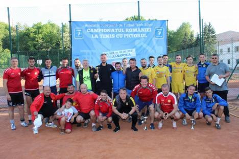 Salontanii de la Tengo, pe podium, după etapa a II-a a Campionatului de tenis cu piciorul (FOTO)