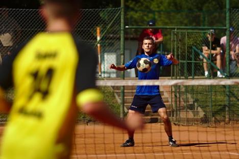 Tengo Salonta organizează Cupa Corporaţiilor la tenis cu piciorul