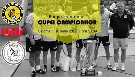 Cupa Mondială a cluburilor va fi expusă public, vineri, la Salonta