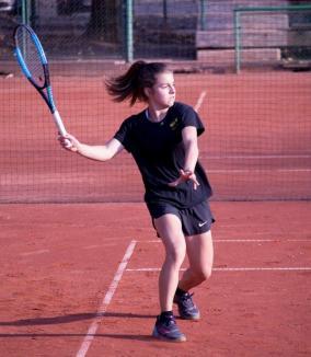 Bihoreanca Anamaria Coroiu a disputat finala turneului de tenis dotat cu Trofeul Marin Bădin - Head,  Bucureşti