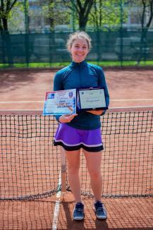 Orădeanca Patricia Goina a câştigat proba feminină a Cupei CSM Oradea la tenis (FOTO)