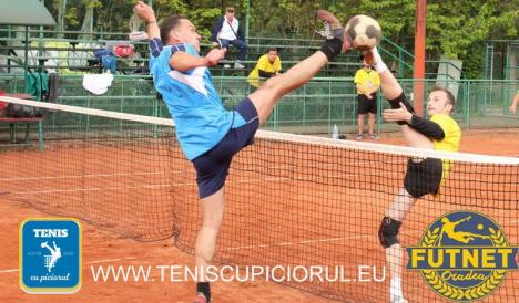 Turneu naţional de tenis cu piciorul, sâmbătă, la baza sportivă de la DJST