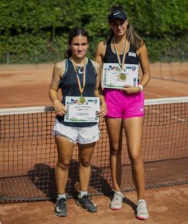 Tenis: Orădeanca Floriana Popovici, printre laureaţii'J5 Oradea Junior Trophy'