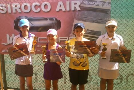 Trofeul Siroco la tenis de câmp și-a desemnat câștigătorii. Fiul lui Teszari, între cei mai buni