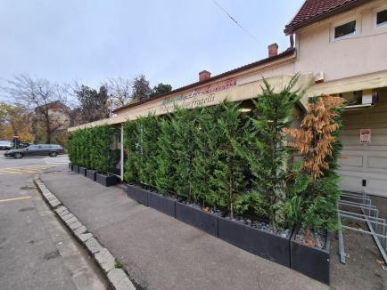 Terase... de iarnă: Cum funcționează localurile din Oradea sub restricțiile impuse în sezonul rece (FOTO)