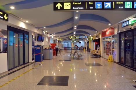 Aeroportul Oradea a pierdut în primele trei luni din an 70% din pasageri faţă de aceeaşi perioadă din 2018