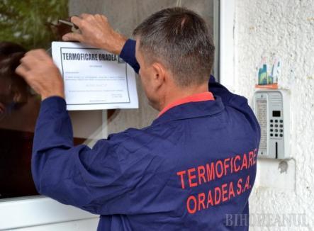 Termoficare Oradea a suspendat activitatea Biroului Unic