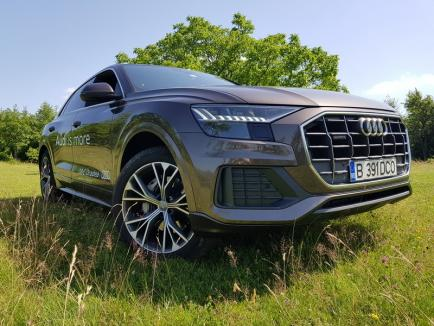 Audi Quattro Q8, disponibil la D&C Oradea: L-am pus la încercare, e fabulos! (FOTO)