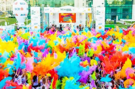 În premieră, orădenii sunt invitaţi la The Color Run, 'cea mai fericită cursă de alergare din lume' (FOTO/VIDEO)