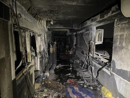 Peste 82 de victime. Incendiu devastator într-un spital anti-Covid din Bagdad