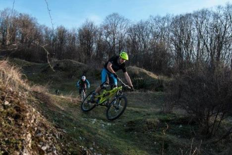 Raliu de biciclete pe Dealul Şomleului, pentru profesioniştii pe două roţi