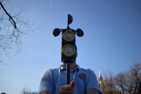 Final de proiect furtunos:Târg meteo la Gojdu