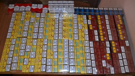 Un orădean, prins de jandarmi cu 304 pachete de ţigări netimbrate