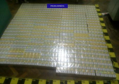 O tânără din Salonta s-a ales cu dosar penal, după ce a fost prinsă cu 30.000 de ţigări de contrabandă în maşină