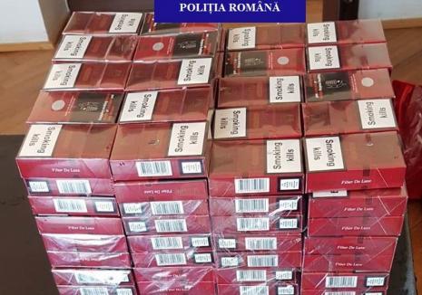 Captură de ţigări de contrabandă în Săcueni. A costat-o amenda aproape cât marfa