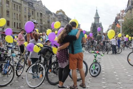 După maşini şi biciclete, Primăria Timişoara a interzis şi plimbarea cu role în centrul oraşului
