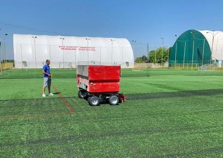 Baza Sportivă Tineretului, pregătită de reluarea competiţiilor de minifotbal
