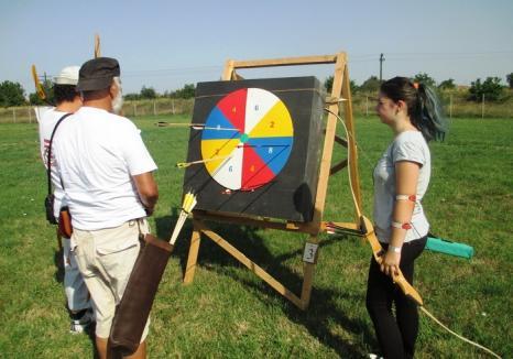 Întreceri spectaculoase la cea de-a patra etapă a Campionatului Judeţean de tir cu arcul de la Săcueni