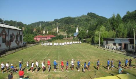 Noi clasări pe podium pentru arcașii orădeni de la CS Redpoint, la Cupa României de la Aninoasa