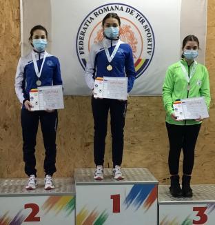 CSU Oradea s-a întors cu medalii de la etapa a doua a Campionatului Naţional de tir sportiv