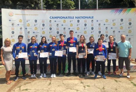 Orădenii de la CSU și-au adjudecat 21 de medalii la Naționalele de tir sportiv pentru juniori II