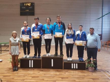 Rezultate bune pentru tinerii sportivi de la CSU Oradea la Memorialul 'Ioan Stănescu' la tir sportiv (FOTO)