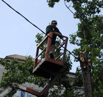 Muncitorii de la RER au salvat o femeie căzută în balcon