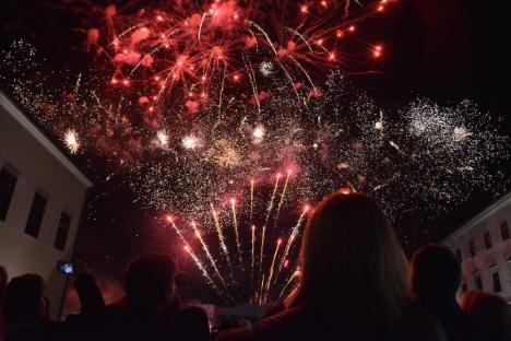Toamna Orădeană s-a încheiat cu un foc de artificii incendiar (FOTO / VIDEO)