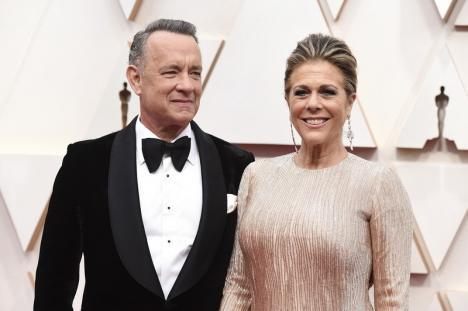 Tom Hanks și soția sa, Rita Wilson, diagnosticați cu noul coronavirus