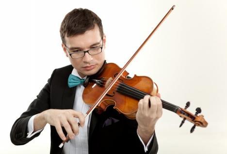 Vioara vedetă revine! Alexandru Tomescu aduce din nou vioara Stradivarius la Oradea