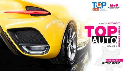 TOP AUTO: Expoziție de mașini, în Cetatea Oradea