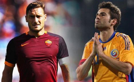 Francesco Totti și Andrea Pirlo vor juca la meciul de retragere al lui Adrian Mutu