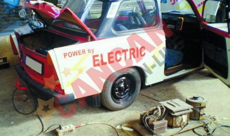 Primul Trabant electric