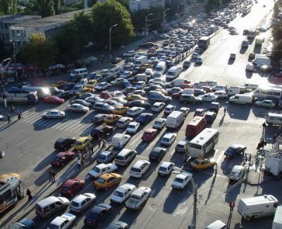 În România, maşinile se numără... manual