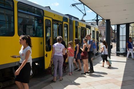 Programul tramvaielor și autobuzelor în Oradea pe 15 și 16 august
