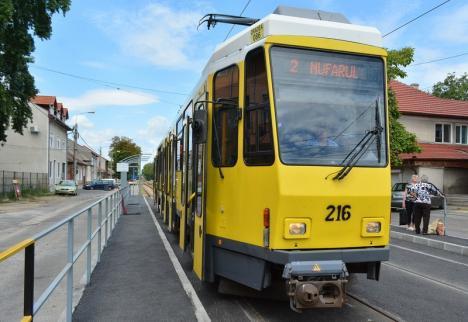 OTL: Staţionări tramvaie în perioada 14 - 17 august