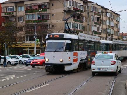 OTL: De ce au staționat tramvaiele în weekend