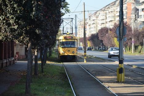 Staţionări tramvaie în 23.06.2021