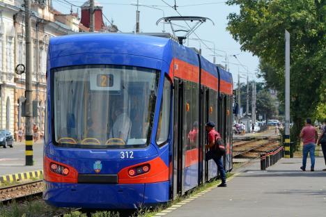OTL: Staţionări tramvaie în 23 septembrie