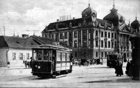 Oradea ieri, Oradea azi: Când au apărut tramvaiele în oraş