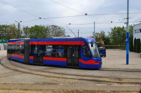 OTL: Al nouălea tramvai Imperio a ajuns la Oradea