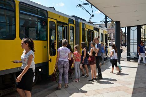 De ce au staționat tramvaiele în perioada 13 -15 septembrie