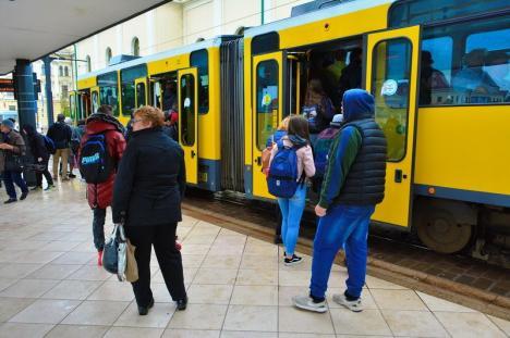 OTL: De ce au staționat tramvaiele în 22 noiembrie