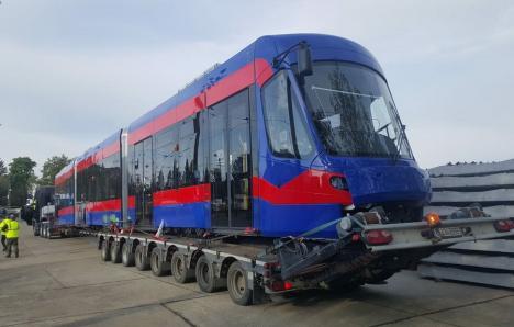 OTL: Al zecelea tramvai Imperio a ajuns la Oradea