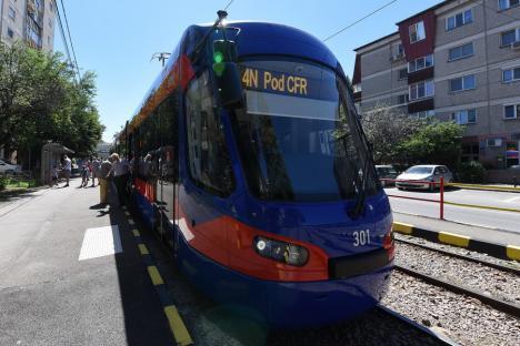 OTL: Staționări tramvaie în 9 august